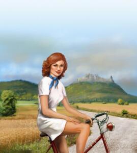 Berta - cyklistka, Citronové nealko