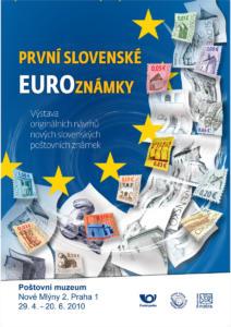 2010 EURO známky